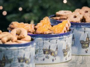 Haselnuss Kekse für Weihnachten