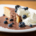 Biskuit glutenfrei und zuckerfrei mit Schokosoße