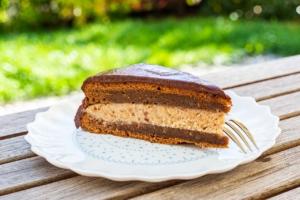 Kastanien Schoko Torte zuckerfrei