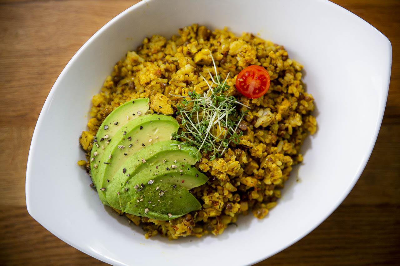 Reispfanne vegan und glutenfrei
