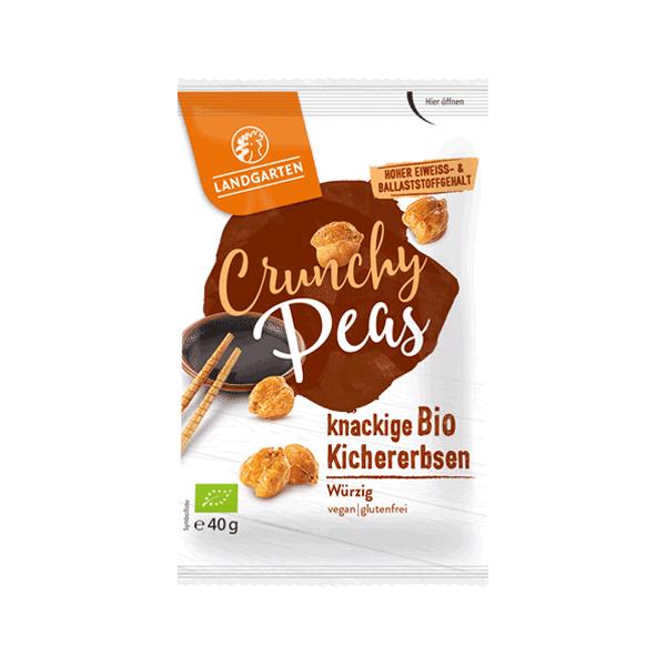 Bio Crunchy Peas würzig