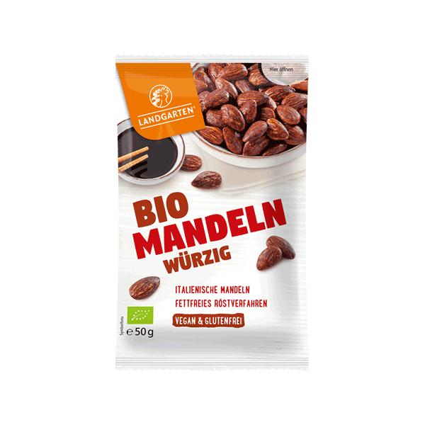 Bio Mandeln geröstet würzig