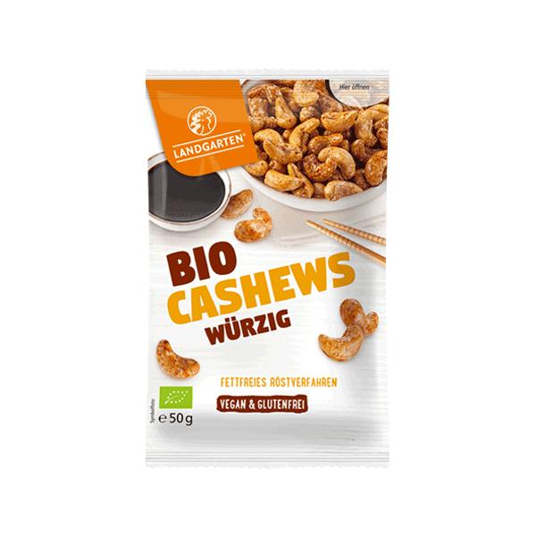 Bio Cashew geröstet würzig