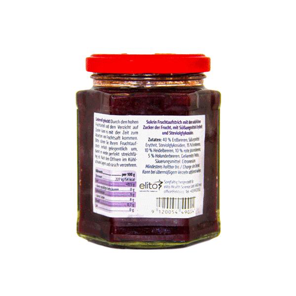 Bio Fruchtaufstrich Waldbeere