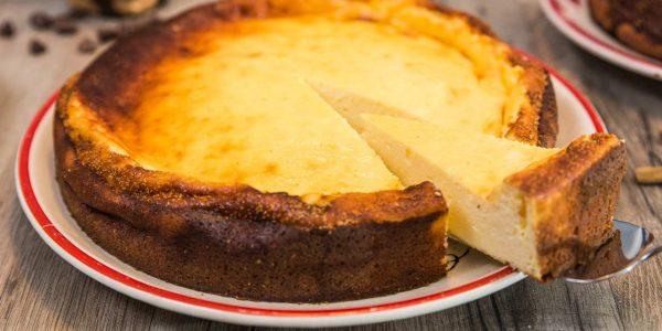 Topfenkuchen zuckerfrei